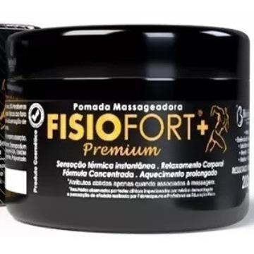 349430 Pomada Massageadora FISIOFORT + Premium Bio Instinto 200g