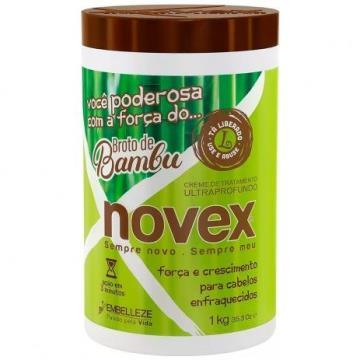 11347 Creme de Tratamento Novex Broto de Bambu Ultraprofundo Embelleze 1kg