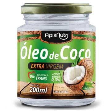 500367 Óleo de Coco Extravirgem ApisNutri 200ml