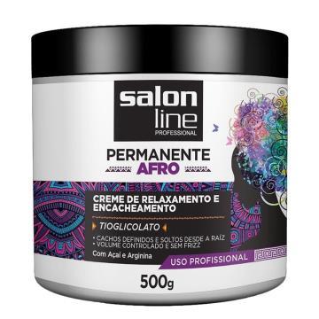 950030 Creme de Relaxamento e Encacheamento Salon Line Permanente Afro 500g