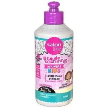 951150 Creme para Pentear Salon Line Molinhas Kids Ondulados #todecachos 300ml