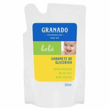 102272 Sabonete líquido Bebê Glicerina Refil Granado 250ml