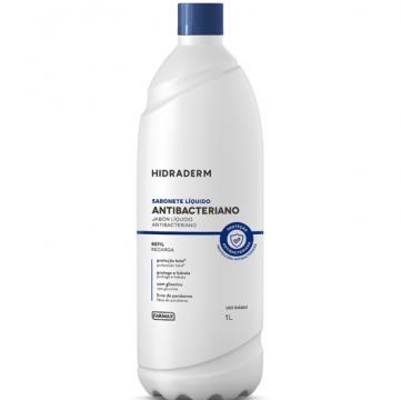 208063 Sabonete Líquido Farmax Antibacteriano Hidraderm Refil 1l