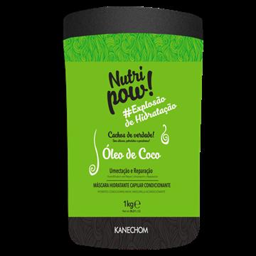 205041 Máscara de Hidratação Kanechom Nutri Protein Óleo de Coco Condicionante Explosão de Hidratação 1kg