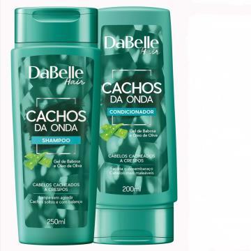 666323 Kit Shampoo e Condicionador Cachos da Onda DaBelle (200ml -cada)