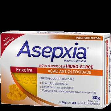 409557 Sabonete Asepxia Enxofre Antiacne Barra 80g