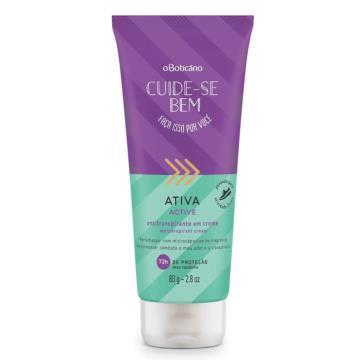 80867 Desodorante Creme Cuide Se Bem Ativa Boticário 80g
