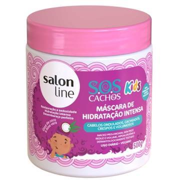 951099 Máscara de Hidratação Intensa S.O.S Cachos Kids Salon Line 500g