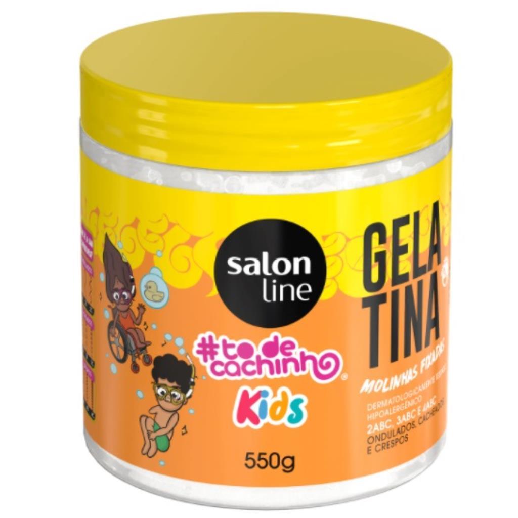 239532 Gelatina Salon Line Molinhas Fixadas #todecacho 550g