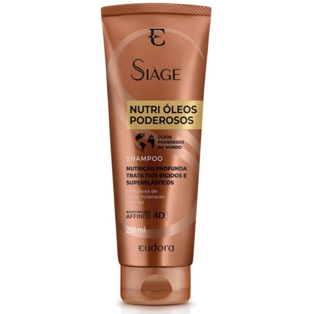 931033 Shampoo Eudora Nutri Óleos Poderosos Siàge 250ml