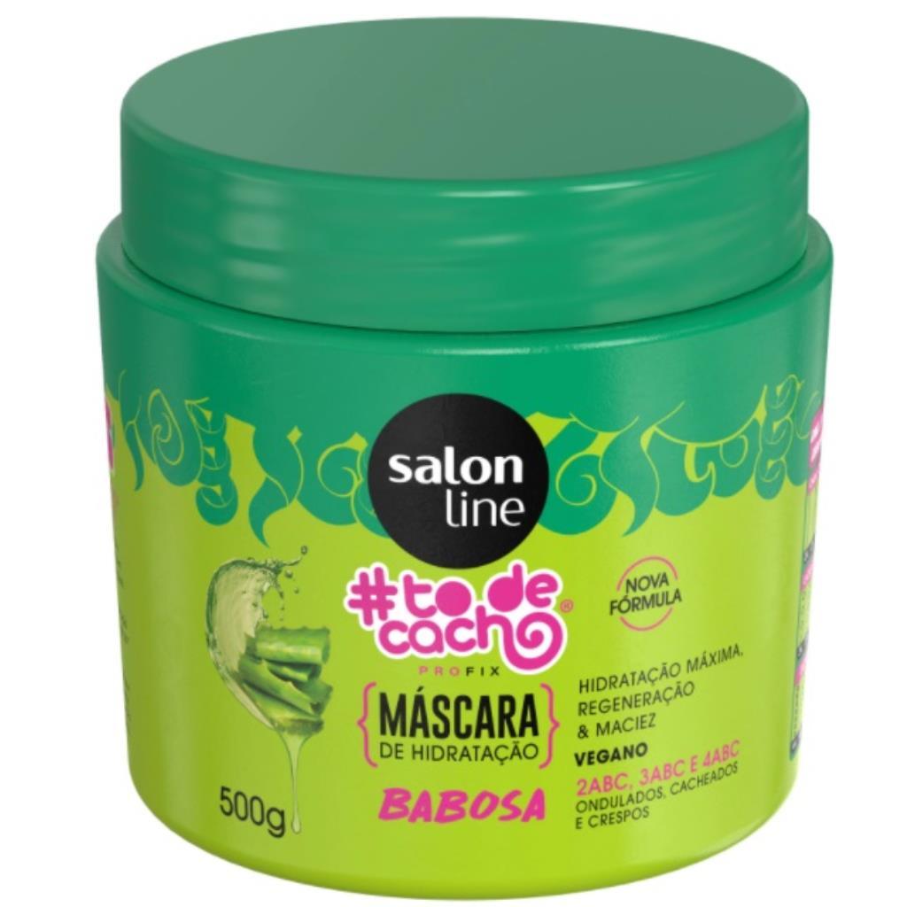 349971 Máscara de Hidratação Salon Line Babosa #todecacho 500g