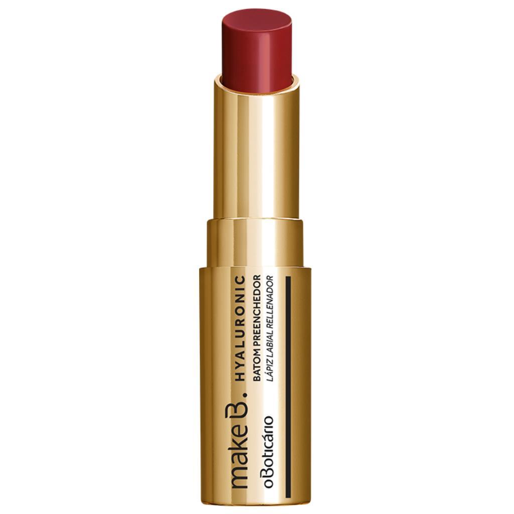 7577435 Batom Boticário Red Classic Preenchedor Hyaluronic Make b 3,4g