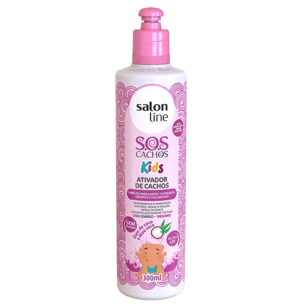 349261 Ativador De Cachos Salon Line Kids Molinhas #todecachos 300ml