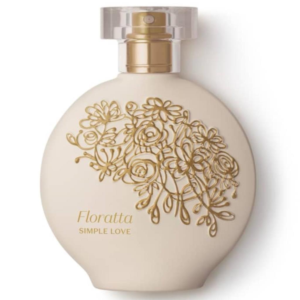 819546 Floratta Simple Love Boticário Colônia 75ml