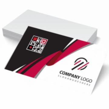1000 Cartões - 4/0 - 9x5 cm - Couchê/Supremo 250 G/m² - UV Total Frente 1/0