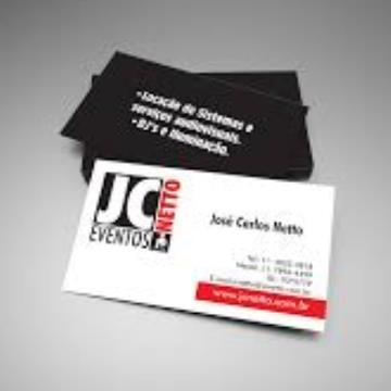 1000 Cartões - com Arte Final - 4/1 - 9x5 cm - Couchê /Supremo 250 G/m² - UV Total Frente 1/0