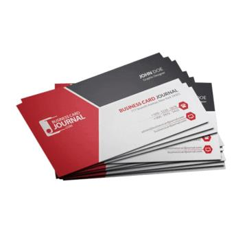 Cartões - 4/1 - 9x5 cm  -  Supremo 300G/m² - UV Total Frente 1/0