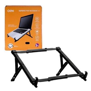 Suporte Ergométrico para Notebook OEX SN100 Preto