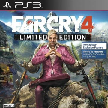 Farcry 4 Limited Edition PS3 BLUS31420LEL  [Usado]