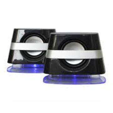 Caixa de Som Kmex SP-6800 6W Preto/Prata