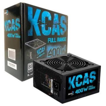 Fonte ATX AeroCool 400W 80Plus KCAS