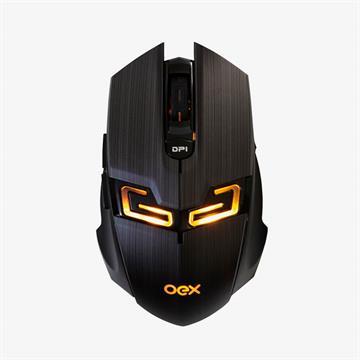 Mouse OEX Game MS-312 6 Botões Macro LED 4000DPI