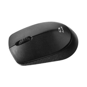 Mouse Wireless C3Plus M-W17 BK Preto