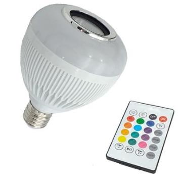 LÂMP LED BULBO 12W BIV SOM C/BLUETOOTH-IMP