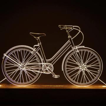 Luminária Bicicleta Passeio - Oficina 021