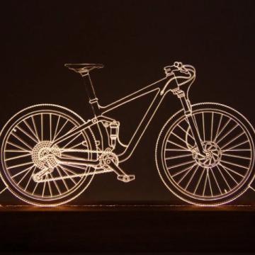 Luminária Bicicleta Mountain Bike - Oficina 021