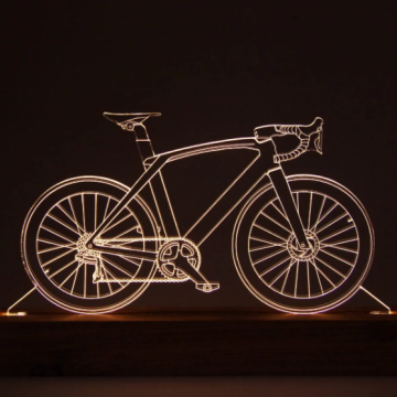Luminária Bicicleta Speed - Oficina