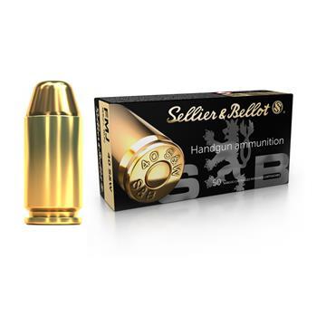 MUNIÇÃO SELLIER & BELLOT .40 S&W FMJ 165GR