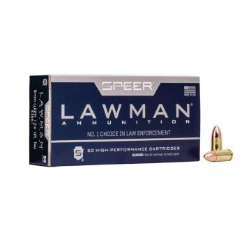 MUNICAO 9MM LUGER 124 GR TMJ LAWMAN