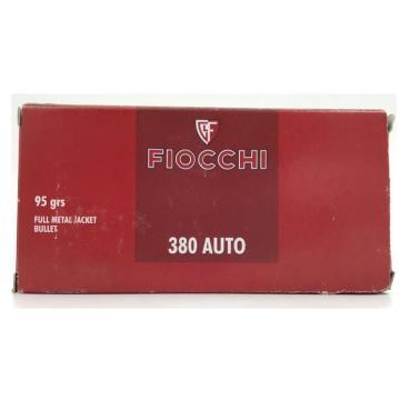 CAL . 380 FMJ 380 AUTO FIOCCHI