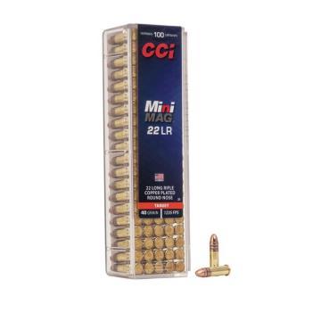 CARTUCHO CCI 22 LR HS MINI MAG