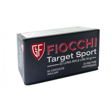 MUNICAO FIOCCHI .22 LR TARGET SPORT 40GR LRM