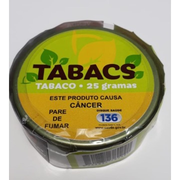 Tabaco Natural Tabacs 25g - Na Lata