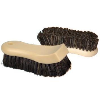 Escova com Cerdas Naturais para Limpeza de Couro - Kers