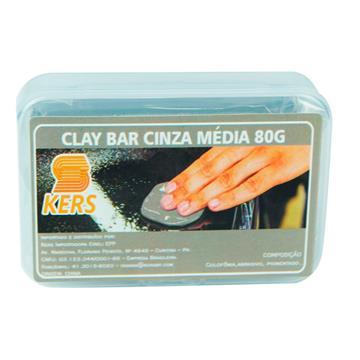 Kers Clay Bar Cinza Média 80g