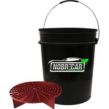 Balde + grelha 16l alça plástica - Nobrecar