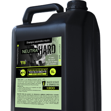 SHAMPOO AUTOMOTIVO NEUTRA HARD - 5L TOYS FOR BOYS