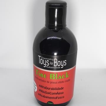 CONDICIONADOR DE PNEUS - TIRE BLACK - 250ml - TOYS FOR BOYS