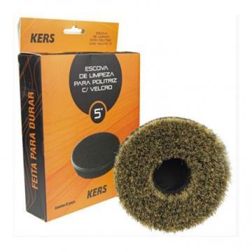 Escova de Limpeza com Velcro para Politriz - Kers (5 polegadas)