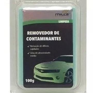Clay Bar 100g - Média - Removedor De Contaminantes - Mills