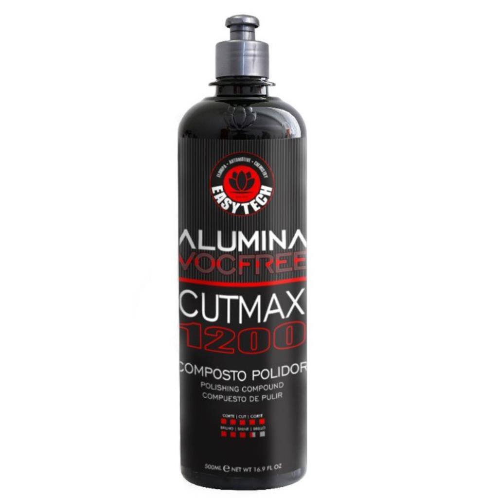 ALUMINA CUTMAX 1200 Composto Polidor de Corte Pesado - EasyTech (500ml)