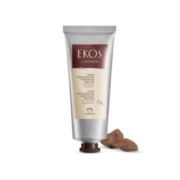 Polpa Desodorante Hidratante para Pés Castanha Ekos - 75g (62526)