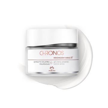Gel Creme Antissinais 30+ Noite Renovação e Energia Chronos - 40g (58004)