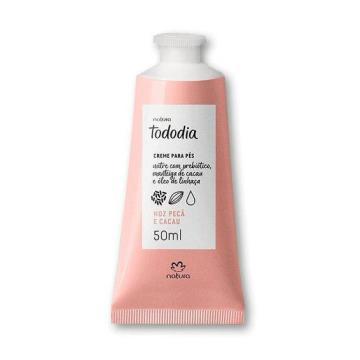 Creme Desodorante Nutritivo para os Pés Noz Pecã e Cacau Tododia - 50ml (72180)