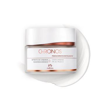 Creme Antissinais 60+ Dia Preenchimento e Revitalização Chronos - 40g (57985)