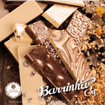 Barrinha de chocolate ao leite com côco 23g